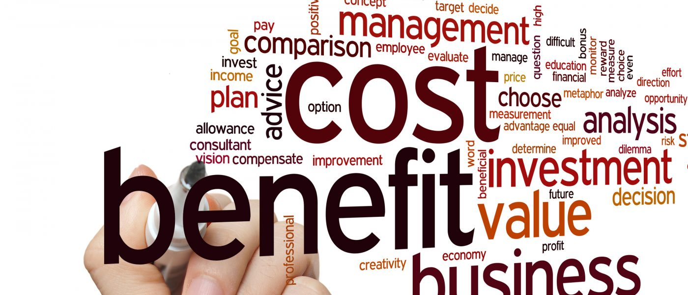 evidence management cost benefit analysis