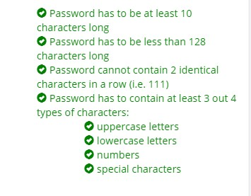 password image