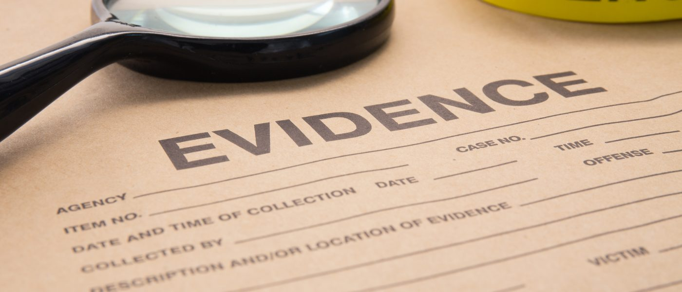 evidence management problems