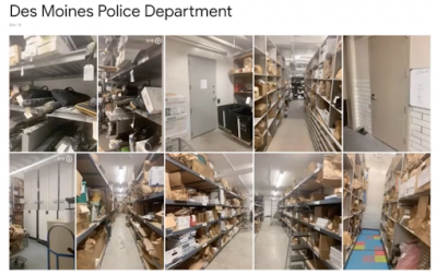 des moines evidence room