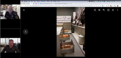 evidence management room tour